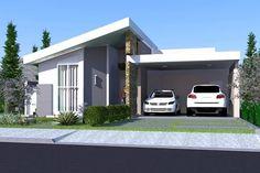 Com um design inovador, esse modelo de casa vem sendo muito sugerido por arquitetos e elogiado por proprietários. Se trata de uma planta bem planejada, onde a área de lazer e convívio da residência está localizada no centro, com o intuito de deixar todos os ambiente sociais da casa integrados, dessa forma o projeto fica adequado com a rotina da família. Todos esses elementos modernos estão visíveis no estilo arquitetônico do imóvel, sua fachada imponente e ao mesmo tempo leve, promove