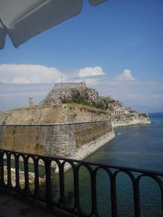 Greece Corfu island, Old Fortress