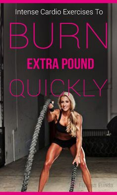 Have you ever thought which Cardio Workouts will help you to burn extra pounds faster? #cardio