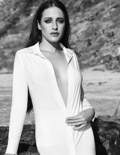 Carly Chaikin photographed by Dennis Leupold for Amazing Magazine