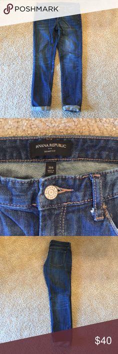 Banana Republic Crop Skinny Fit, crop jean Banana Republic Jeans Skinny