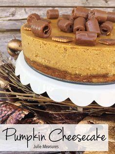 Pumpkin Cheesecake #
