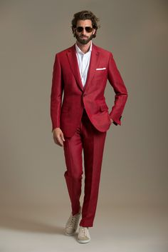 clearly this isn't food, but this ensemble reminds me of a red velvet cake with cream cheese frosting