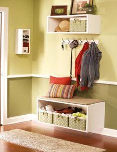 DIY:: Box Shelves