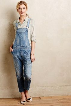 Citizens of Humanity Audrey Overalls #anthrofave #anthropologie.com