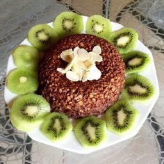 Article - Pancakes et Cake Bowl Healthy Cooking Bowl, Cooking Time, Bol Cake, Ww Desserts, Desserts Fruits, Microwave Recipes, Smoothie Bowl, Smoothies, I Love Food