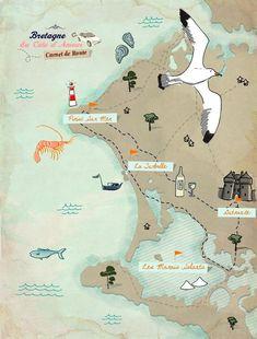 Bretagne, à la découverte de la Côte d'Amour - Piriac sur mer, La Turballe, Guérande, les marais salants