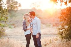 Fall family portrait- golden light and sunflare. Photo by Intuitive Images Photography http://intuitiveimagesphotography.com