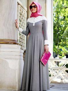 20 Ways to Wear Silk Hijab Islamic Fashion, Muslim Fashion, Modest Fashion, Beautiful Hijab, Beautiful Outfits, Hijab Mode, Modele Hijab, Mode Simple, Abaya Designs