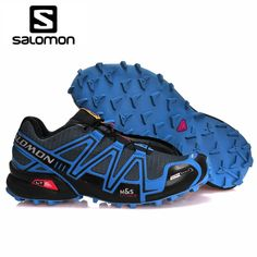 c6ee9e90df3f Salomon Speed Cross 3 CS cross-country mens running shoes Brand Sneakers  Male Athletic Sport SPEEDCROSS Fencing Shoes 40-46