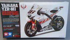 Tamiya Motorcycle Model 1 12 motorbike Yamaha YZR M1 50th Edition SEALED RK2 | eBay