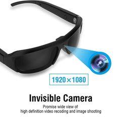 1080P HD Mini Night Vision Eyewear DVR Video Recorder Sunglasses Camera Glasses   Wish Hd Camera, Wifi Spy Camera, Mini Camera, Video Camera, Security Camera, Mac Os 10, Blacked Videos, Sports Camera, Cool Gadgets To Buy