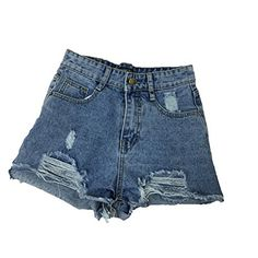 72f063854f54 Unique-Shop Spring and Summer Clothes 2018 New Women s Wide Leg Denim Shorts  Female high Waist was Thin raw Hair Chic Kore
