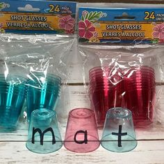 I was checking out at the Dollar Tree with eight packs of these tiny plastic cups, and the cashier asked me if I was having a luau. Of course not. It& for a phonics/word work activity! Kindergarten Lesson Plans, Kindergarten Centers, Kindergarten Classroom, Ks1 Classroom, Phonics Centers, Early Years Classroom, Future Classroom, Teaching Phonics, Teaching Reading