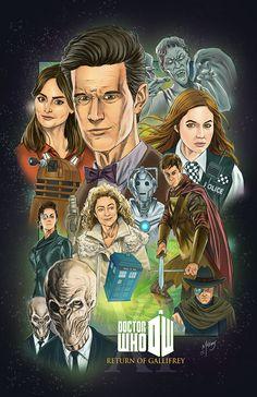 11th Doctor: Return of Gallifrey by kevinmccoy