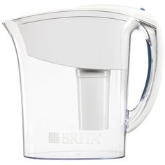 Enjoy better flavored, cleaner with the Brita Bella water filter pitcher. The 10 or 18 glasses capacity filtration pitcher is perfect for your home. The BPA-free filter reduces zinc, c… College Packing Lists, College Hacks, College Supplies, College Bedding, College Dorm Rooms, Dorm Life, College Life, College Ready, College Board