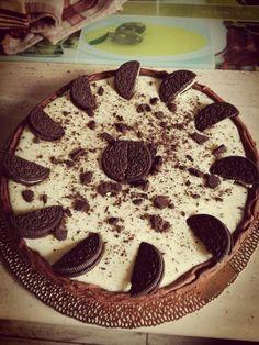 Chocolate cake with white chocolate&mascarpone cream...so tasty 😊