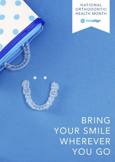 Don't let anything keep you from experiencing life's greatest adventures. Thanks to the flexibility of Invisalign clear aligners, you can easily remove them to eat and drink anytime, anywhere your sense of adventure takes you! #NationalOrthodonticHealthMonth