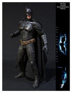 Hot Toys Movie Masterpiece Dark Knight Batman by ETDS1, via Flickr