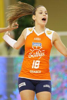 Camila Brait,volei player, líbero, Brazilian Team and Osasco/Sollys (Brasil)