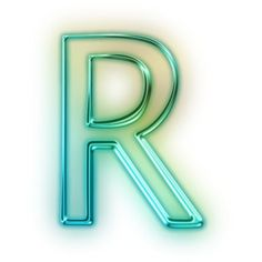 Download Free Capital Letter R Glowing Green Neon Icon ~ Icons Etc.