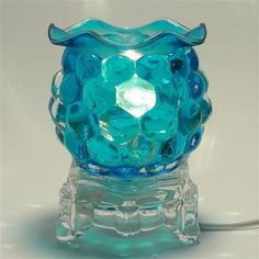 Glass-Electric-Crystal-ball-Scent-Oil-Diffuser-Warmer-Burner-Fragrance-Lamp