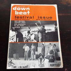 Vintage 1967 DownBeat Magazine Festival Issue Jazz Blues Newport Monterey by VintageBlackCatz on Etsy