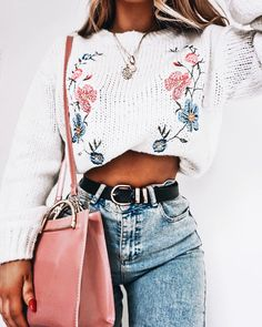 Outfits for teens, back to school outfits, casual outfits, cute outfits, teen Fashion 2018, Girl Fashion, Fashion Outfits, Womens Fashion, Fashion Mode, 90s Fashion, Summer Fashion Trends 2018, Junior Fashion, Jeans Fashion