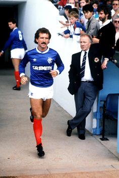 Hahnemuhle PHOTO RAG Fine Art Paper (other products available) - Graeme Souness, Rangers - Image supplied by PA Images - Fine Art Print on Paper made in the UK Rangers Football, Football Icon, Rangers Fc, Football Kits, Retro Football, Vintage Football, Football Players, Tottenham Hotspur, Graeme Souness
