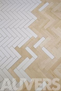 beautiful melding of flooring in a french home designed by kalb lempereur interior designers.