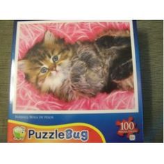 Fur ball Puzzlebug 100 piece puzzle