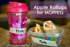 MOPPETS Snack Idea: Apple Rollups