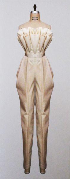 ensemble #3 - muslin drape