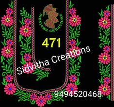 Single Flowers, Hand Embroidery Designs, Anarkali, Pencil Drawings, Blouse Designs, Machine Embroidery, Coloring Pages, Target, Digital