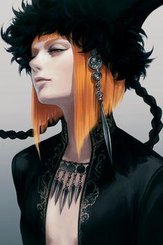 Ayaka Suda Illustration,服装,光,女性