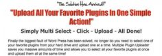 Plugin Uploader  ... Wordpress Plugin... http://pin.st/mpuploader