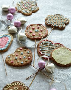 Opskrift på småkager på pind