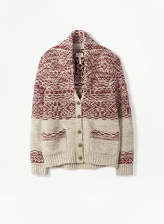 Nord Sweater, Wilfred Free. The inside out fair-isle keeps popping up.