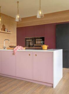 Paint Colour Examples | Naked Kitchens Kitchen Doors, Kitchen Cabinets, Hall Paint Colors, Cabinet Fronts, Oak Panels, Compact Kitchen, Grey Kitchens, Kitchen Trends, Door Design
