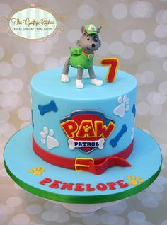 Paw Patrol Cake - Rocky