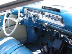 1957 Pontiac safari blue- I was in one of these beauties