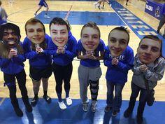 Big head cutouts for the team by Build-A-Head (Basketball Decorations) Senior Night Gifts, Senior Day, Senior 2018, Sports Mom, School Sports, Sports Pics, High School Life, High School Seniors, Sports Day Poster