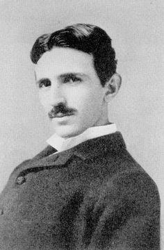 Nikola Tesla - Repinned by UXSherlock.