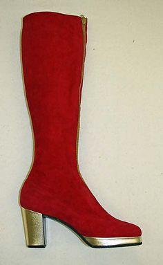 Boots, Herbert Levine Inc. ca. 1962 The Metropolitan Museum of Art