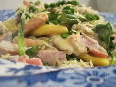 Creamy Vegetable and Ham Pasta #Recipe