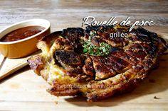 Aujourd'hui c'est une recette de rouelle de porc cuite au barbecue que je vous propose. Mariné dans l'huile d'olive, les herbes et le citron puis cuit au barbecue, ce plat d…
