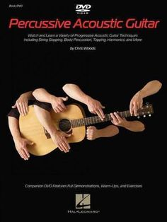 (Guitar Educational). Turn your acoustic guitar into a full band with this comprehensive book/DVD set by guitar virtuoso Chris Woods. Providing detailed, step-by-step instruction on a variety of percu