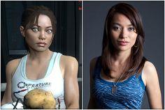 "Alésia Glidewell es Chell en ""Portal 2"""