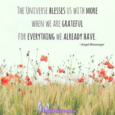 We have heard others talk about how gratitude can change things in your life but it also can be considered a form of prayer. Read Gratitude is The Most Powerful Form of Prayer http://www.angelmessenger.net/gratitude-is-the-most-powerful-form-of-prayer