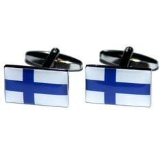 Manchetknopen Finse Vlag